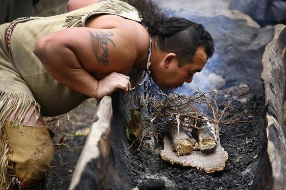 Life as 1600's Wampanoag Native