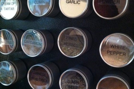 Project: Magnetic Spice Containers