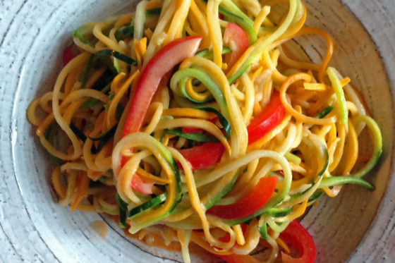 Paleo Curry Zucchini Noodles – Quick and Easy Paleo Comfort Foods