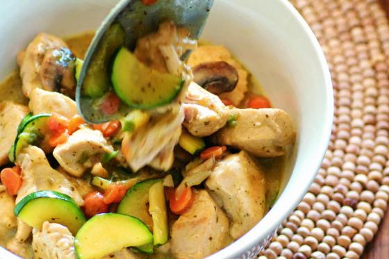 Easy Thai Coconut Chicken: The Frugal Paleo Cookbook