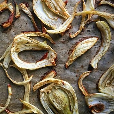 Roasted Fennel with Blood Orange Vinegar