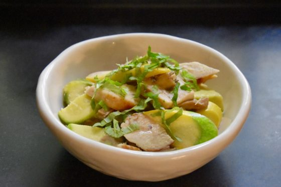 Lemongrass Chicken with Mushrooms & Summer Squash