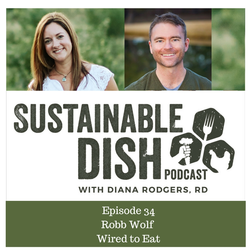 Sustainable Dish Episode 34: Robb Wolf: Wired to Eat - Sustainable Dish