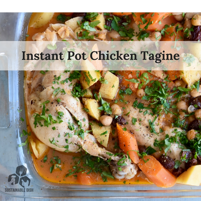 Instant pot chicken tagine sustainable dish instant pot chicken tagine forumfinder Images