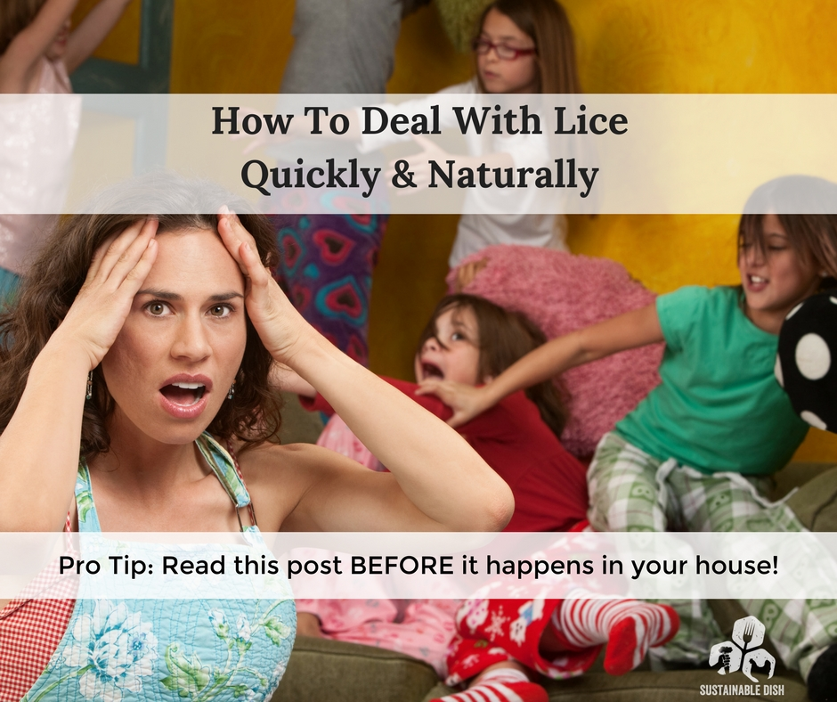How To Deal With Lice Quickly And Naturally
