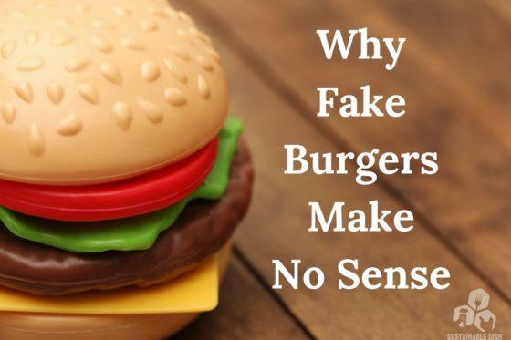 Why Fake Burgers Make No Sense