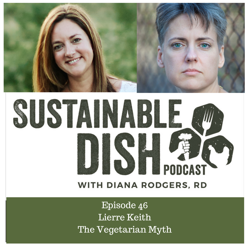 the vegetarian myth This week's show is with one impressive woman, lierre keith lierre has been a highly requested guest for a while now this show is going to show you exactly why.