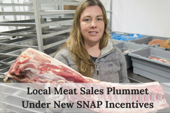 Local Meat Sales Plummet Under New Snap Incentives