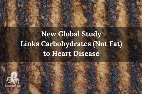 New Global Study Links Carbohydrates (Not Fat) Heart Disease