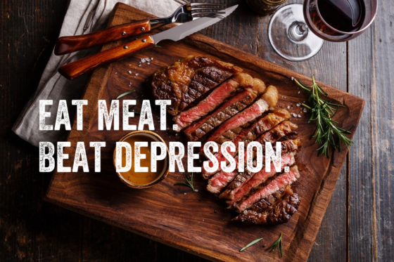 Eat Meat: Beat Depression